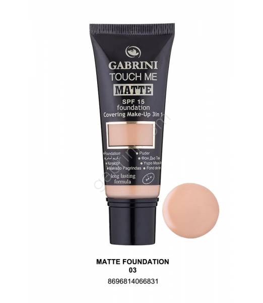 GABRINI MATTE FOUNDATION 03