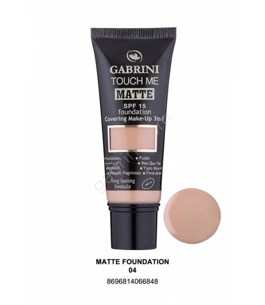 GABRINI MATTE FOUNDATION 04