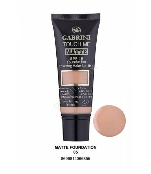 GABRINI MATTE FOUNDATION 05