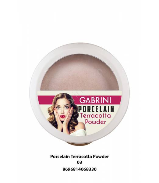 GABRINI PORCELAIN TERRACOTTA POWDER 03