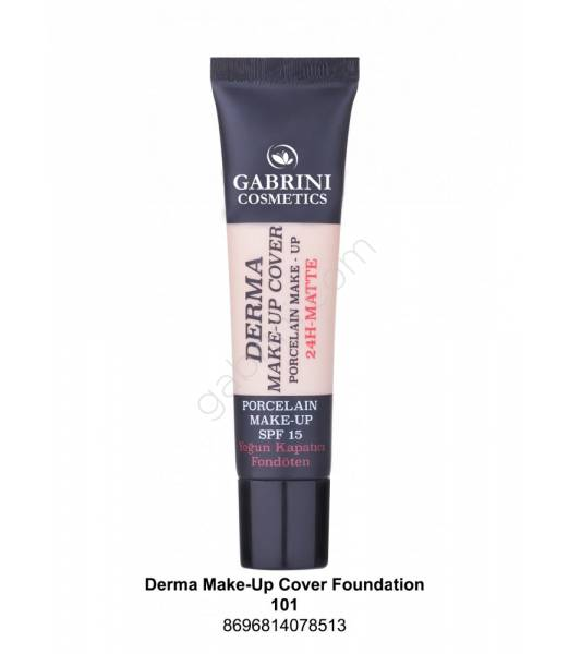 GABRINI DERMA MAKE-UP COVER FOUNDATION 101