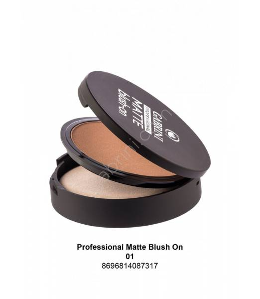 GABRINI Professional Matte Blush On 01
