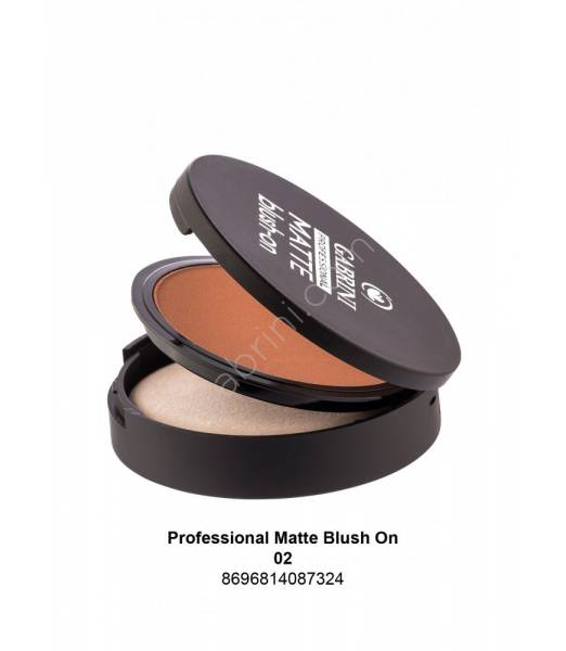 GABRINI Professional Matte Blush On 02