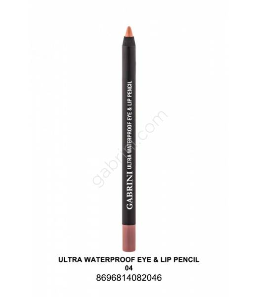 GABRİNİ  Ultra Waterproof Lip& Eye Pencil 04