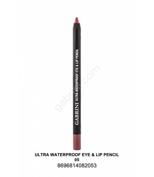 GABRİNİ  Ultra Waterproof Lip& Eye Pencil 05