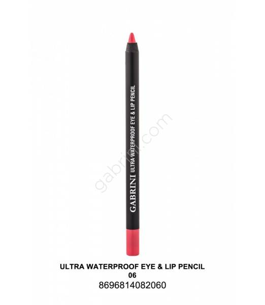GABRİNİ  Ultra Waterproof Lip& Eye Pencil 06