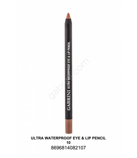 GABRİNİ  Ultra Waterproof Lip& Eye Pencil 10