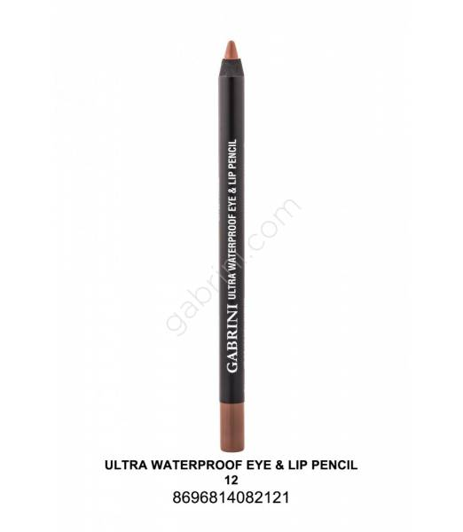 GABRİNİ  Ultra Waterproof Lip& Eye Pencil 12