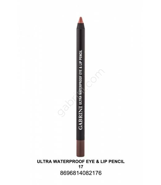 GABRİNİ  Ultra Waterproof Lip& Eye Pencil 17